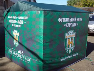 Рекламные палатки под заказ