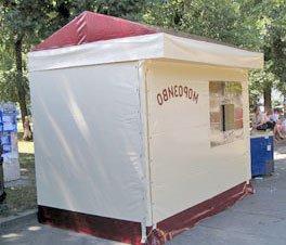 Купить торговую палатку в Украине (недорого)