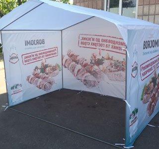 Торговые палатки для уличной торговли цены