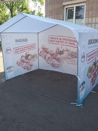 Торговые палатки заказать